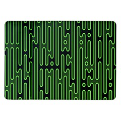 Pipes Green Light Circle Samsung Galaxy Tab 10 1  P7500 Flip Case