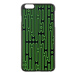 Pipes Green Light Circle Apple Iphone 6 Plus/6s Plus Black Enamel Case by Alisyart