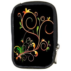 Flowers Neon Color Compact Camera Cases by Simbadda
