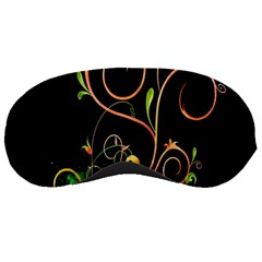 Flowers Neon Color Sleeping Masks