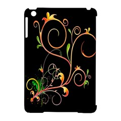 Flowers Neon Color Apple Ipad Mini Hardshell Case (compatible With Smart Cover)