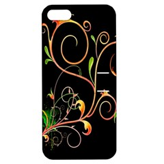 Flowers Neon Color Apple Iphone 5 Hardshell Case With Stand by Simbadda
