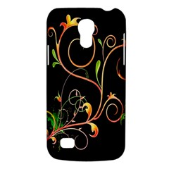 Flowers Neon Color Galaxy S4 Mini by Simbadda