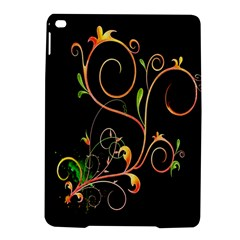 Flowers Neon Color Ipad Air 2 Hardshell Cases by Simbadda