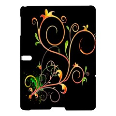 Flowers Neon Color Samsung Galaxy Tab S (10 5 ) Hardshell Case  by Simbadda