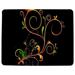 Flowers Neon Color Jigsaw Puzzle Photo Stand (rectangular) by Simbadda