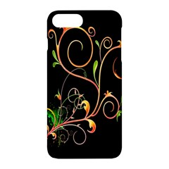 Flowers Neon Color Apple Iphone 7 Plus Hardshell Case