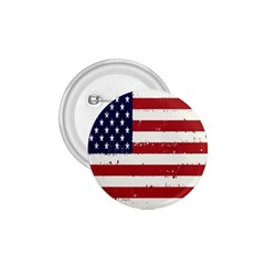 Flag United States United States Of America Stripes Red White 1 75  Buttons by Simbadda