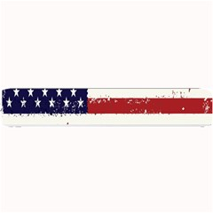 Flag United States United States Of America Stripes Red White Small Bar Mats by Simbadda