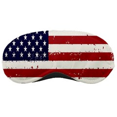 Flag United States United States Of America Stripes Red White Sleeping Masks by Simbadda