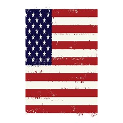 Flag United States United States Of America Stripes Red White Shower Curtain 48  X 72  (small)  by Simbadda