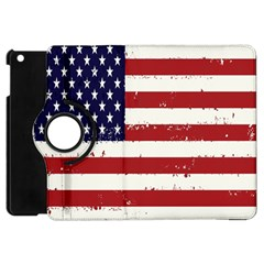 Flag United States United States Of America Stripes Red White Apple Ipad Mini Flip 360 Case by Simbadda
