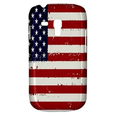Flag United States United States Of America Stripes Red White Galaxy S3 Mini by Simbadda