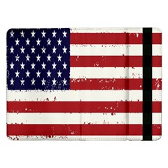 Flag United States United States Of America Stripes Red White Samsung Galaxy Tab Pro 12 2  Flip Case
