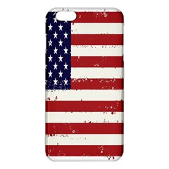 Flag United States United States Of America Stripes Red White Iphone 6 Plus/6s Plus Tpu Case by Simbadda