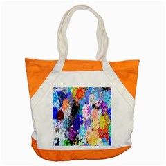 Flowers Colorful Drawing Oil Accent Tote Bag