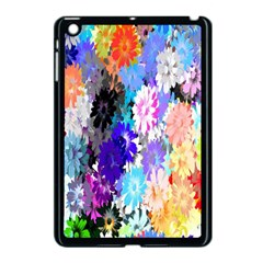Flowers Colorful Drawing Oil Apple Ipad Mini Case (black) by Simbadda