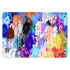 Flowers Colorful Drawing Oil Samsung Galaxy Tab 8 9  P7300 Flip Case by Simbadda