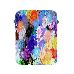 Flowers Colorful Drawing Oil Apple Ipad 2/3/4 Protective Soft Cases by Simbadda
