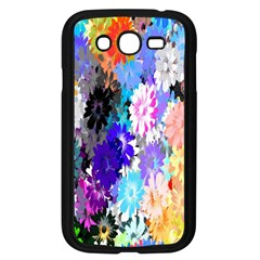 Flowers Colorful Drawing Oil Samsung Galaxy Grand Duos I9082 Case (black) by Simbadda