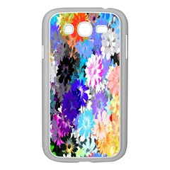 Flowers Colorful Drawing Oil Samsung Galaxy Grand Duos I9082 Case (white) by Simbadda