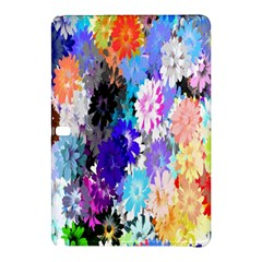 Flowers Colorful Drawing Oil Samsung Galaxy Tab Pro 10 1 Hardshell Case by Simbadda