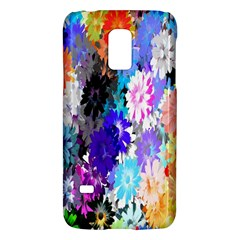 Flowers Colorful Drawing Oil Galaxy S5 Mini by Simbadda