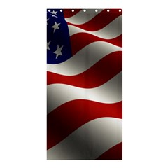 Flag United States Stars Stripes Symbol Shower Curtain 36  X 72  (stall)  by Simbadda