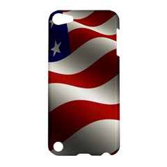 Flag United States Stars Stripes Symbol Apple Ipod Touch 5 Hardshell Case by Simbadda