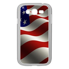 Flag United States Stars Stripes Symbol Samsung Galaxy Grand Duos I9082 Case (white) by Simbadda