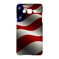 Flag United States Stars Stripes Symbol Samsung Galaxy A5 Hardshell Case  by Simbadda
