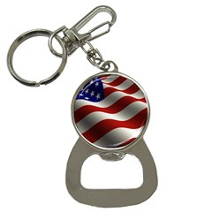 Flag United States Stars Stripes Symbol Button Necklaces by Simbadda