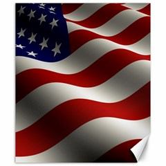 Flag United States Stars Stripes Symbol Canvas 20  X 24   by Simbadda