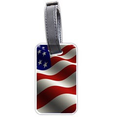 Flag United States Stars Stripes Symbol Luggage Tags (two Sides) by Simbadda