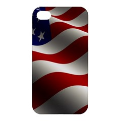 Flag United States Stars Stripes Symbol Apple Iphone 4/4s Hardshell Case by Simbadda