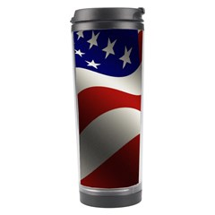 Flag United States Stars Stripes Symbol Travel Tumbler by Simbadda