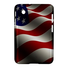 Flag United States Stars Stripes Symbol Samsung Galaxy Tab 2 (7 ) P3100 Hardshell Case  by Simbadda