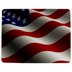 Flag United States Stars Stripes Symbol Jigsaw Puzzle Photo Stand (rectangular) by Simbadda