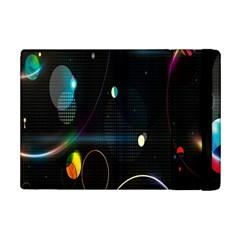 Glare Light Luster Circles Shapes Ipad Mini 2 Flip Cases by Simbadda