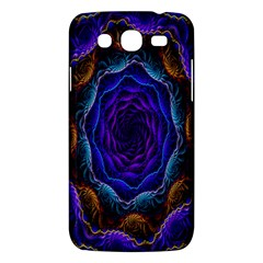 Flowers Dive Neon Light Patterns Samsung Galaxy Mega 5 8 I9152 Hardshell Case