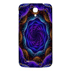 Flowers Dive Neon Light Patterns Samsung Galaxy Mega I9200 Hardshell Back Case by Simbadda