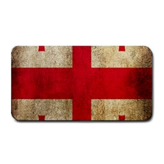 Georgia Flag Mud Texture Pattern Symbol Surface Medium Bar Mats by Simbadda
