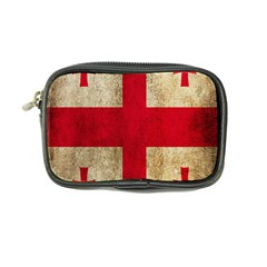 Georgia Flag Mud Texture Pattern Symbol Surface Coin Purse by Simbadda