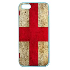 Georgia Flag Mud Texture Pattern Symbol Surface Apple Seamless Iphone 5 Case (color) by Simbadda