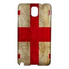 Georgia Flag Mud Texture Pattern Symbol Surface Samsung Galaxy Note 3 N9005 Hardshell Case by Simbadda