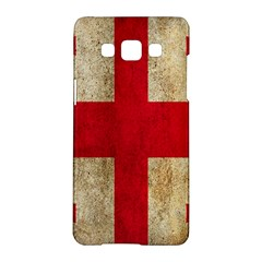 Georgia Flag Mud Texture Pattern Symbol Surface Samsung Galaxy A5 Hardshell Case  by Simbadda