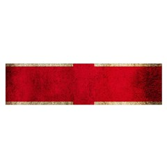 Georgia Flag Mud Texture Pattern Symbol Surface Satin Scarf (oblong)