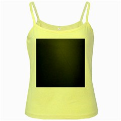 Leather Stitching Thread Perforation Perforated Leather Texture Yellow Spaghetti Tank by Simbadda