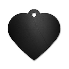 Leather Stitching Thread Perforation Perforated Leather Texture Dog Tag Heart (one Side)