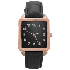 Leather Stitching Thread Perforation Perforated Leather Texture Rose Gold Leather Watch  by Simbadda